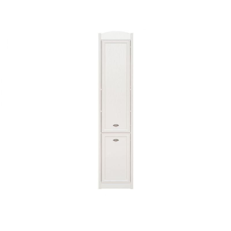 Шкаф пенал SALERNO ( Салерно ) REG2DP Белый для спальни и гостиной