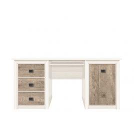 Стол письменный Коен BIU/170 Ясень снежный/Сосна натуральная