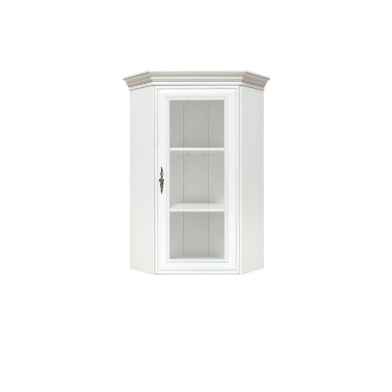 Витрина надставная для гостиной KENTAKI ( Кентаки ) NADN 1W  Белый