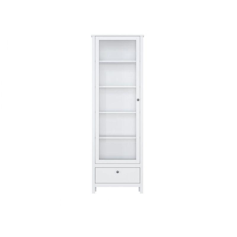 Витрина шкаф для гостиной HELGA REG1W1S/65 Белый