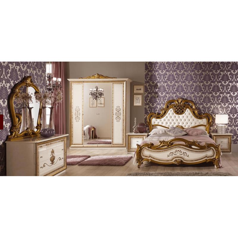 Спальный гарнитур 4-х дверный Анита Беж