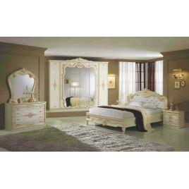 Спальный гарнитур 6-ти дверный Диана Беж