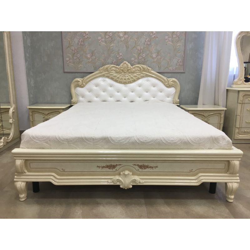 Кровать с основанием Кровать 2-х спальная «Диана» Беж