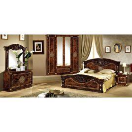 Спальный гарнитур 4-х дверный Рома Орех