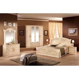Спальный гарнитур 4-х дверный Рома Беж