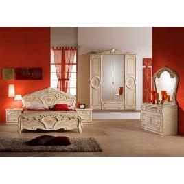 Спальный гарнитур 4-х дверный «Роза» беж