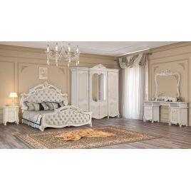 Спальный гарнитур 4-х дверный Рафаэлла Беж