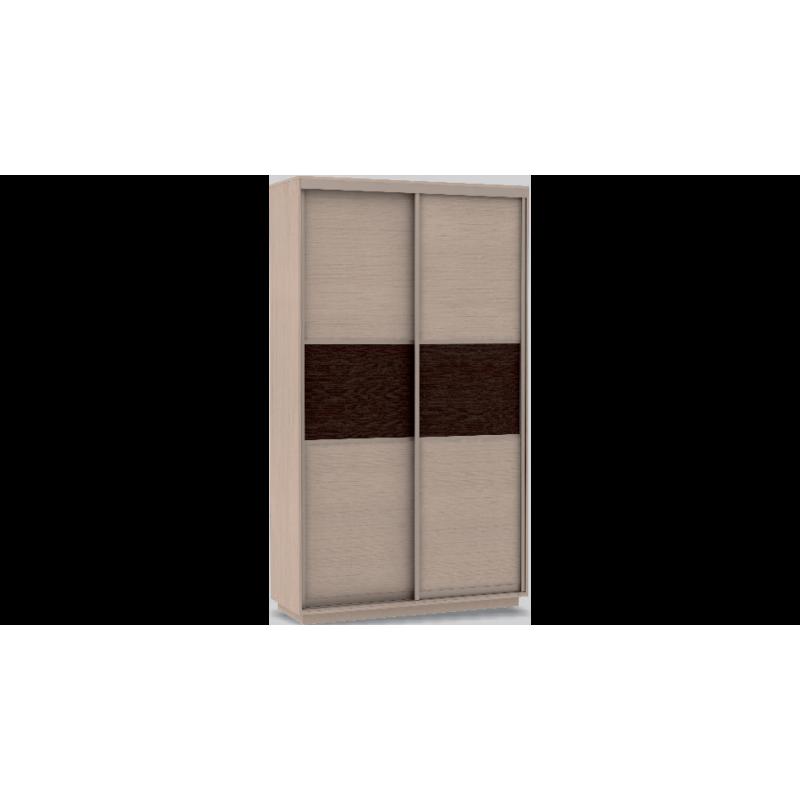 Шкаф-купе бельевой Мини дуб молочный/дуб молочный