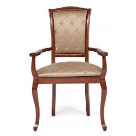 Стул-кресло деревянное Geneva Коричневый в рыжину
