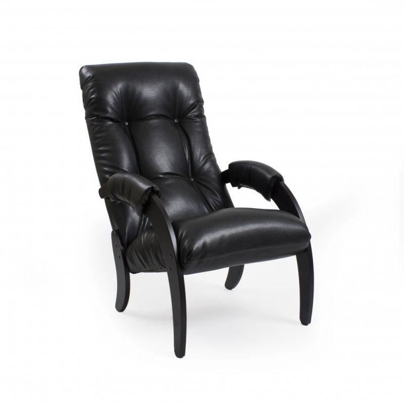 Кресло для отдыха Модель 61 венге ( Vegas lite black )
