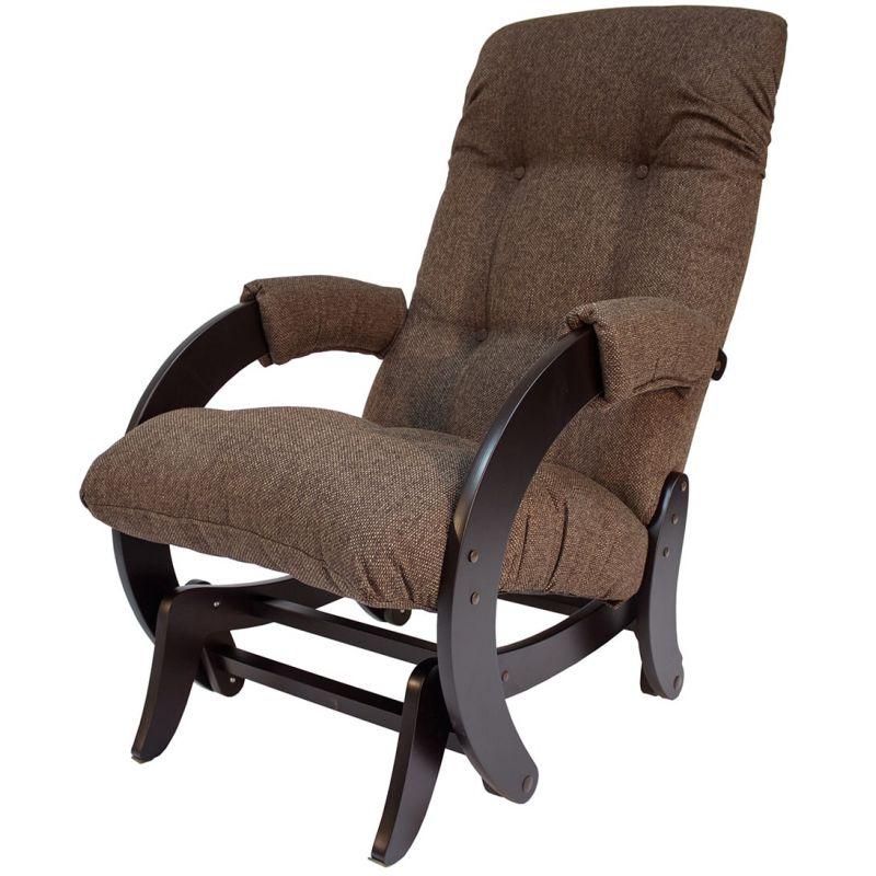 Кресло-качалка глайдер модель 68 венге ( Мальта 15 )