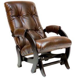Кресло-качалка глайдер модель 68 венге ( Антик Крокодил )