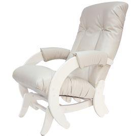 Кресло-качалка глайдер модель 68 Дуб Шампань ( Polaris Beige )