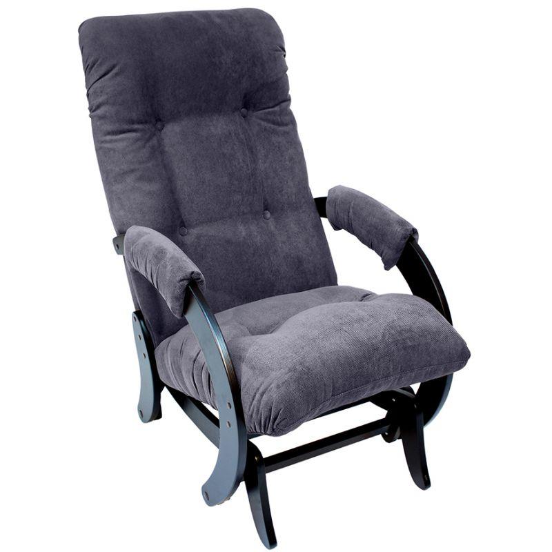 Кресло-качалка глайдер модель 68 венге ( Верона Denim Blue )