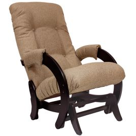Кресло-качалка глайдер модель 68 венге ( Мальта 03 )