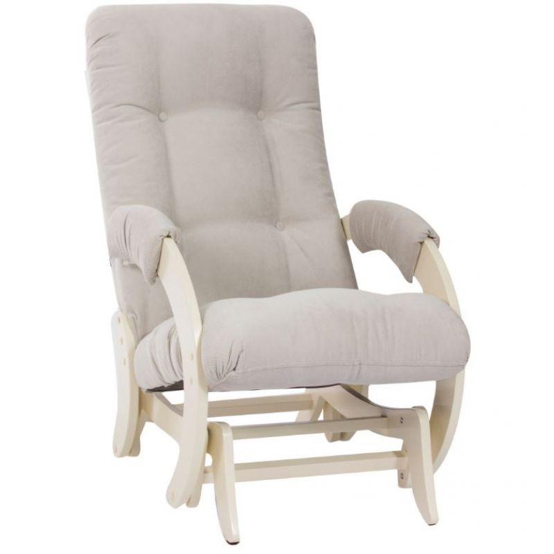 Кресло-качалка глайдер модель 68 Дуб Шампань ( Верона Light Grey )