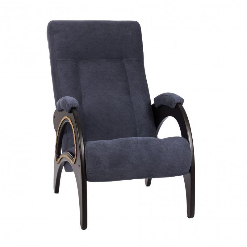 Кресло для отдыха Модель 41 венге ( Верона Denim Blue )