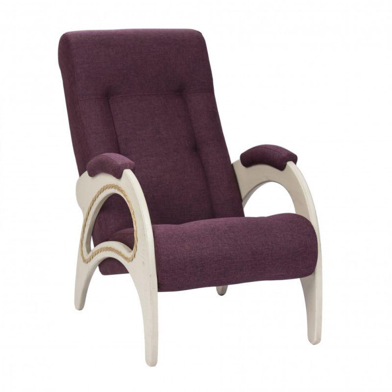Кресло для отдыха Модель 41 Дуб шампань ( Фальконе Purple )