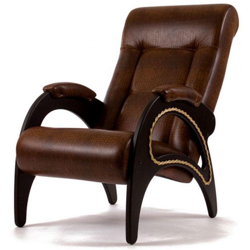 Кресло для отдыха Модель 41 венге ( Антик Крокодил )