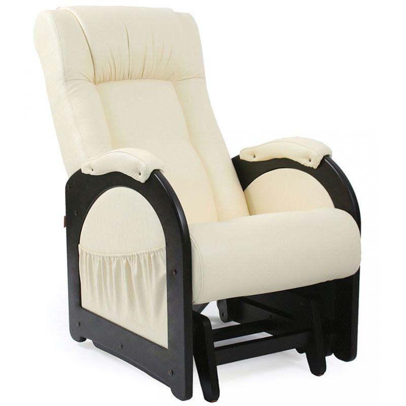 Кресло-качалка глайдер модель 48 (б/л)  венге ( Дунди 112 )