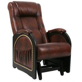Кресло-качалка глайдер модель 48 венге ( Антик Крокодил )