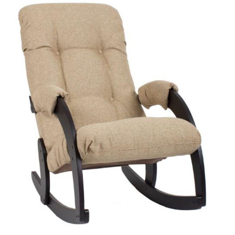 Кресло-качалка модель 67 венге ( Бежевый )