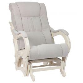 Кресло-качалка глайдер модель 78 венге ( Верона Light Grey )