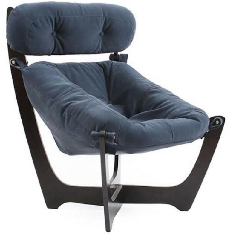 Кресло для отдыха Модель 11 венге ( Верона Denim Blue )