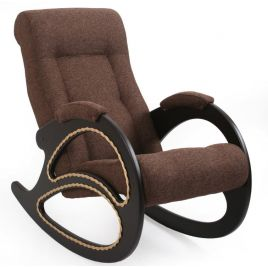 Кресло-качалка модель 4 венге ( Коричневый )