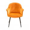 Стул - кресло дизайнерский С-985 Велюр Терракотовый