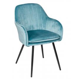 Стул - кресло дизайнерский С-987 Велюр Бирюзовый