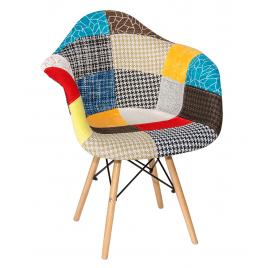 Кресло в ткани GH-8533 «Синди» (Пэчворк классический)