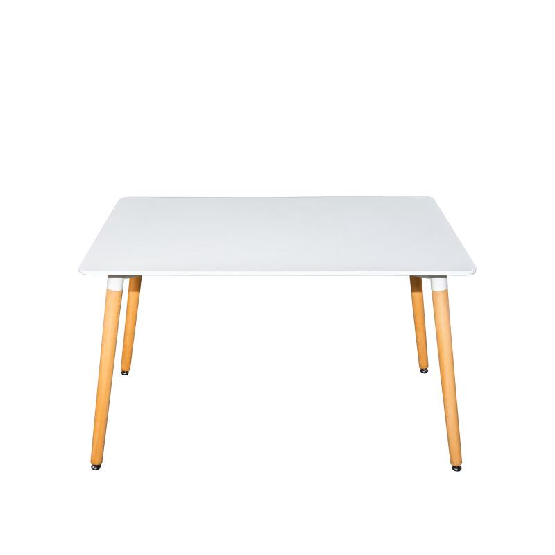 Стол для кухни обеденный прямоугольный Cindy «SQT-8» (80) Белый