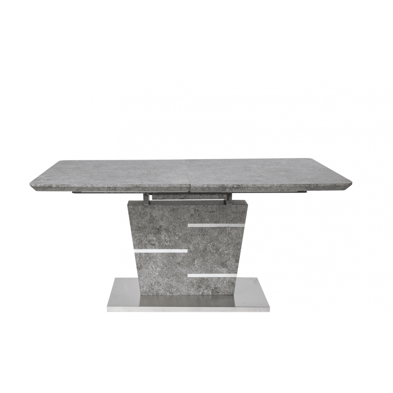 Стол обеденный раскладной Бетон D-1916 Серый
