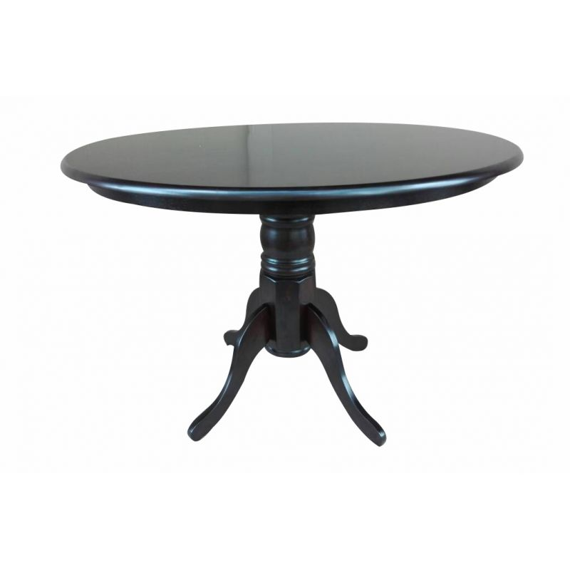 Стол для кухни обеденный деревянный круглый Hv Coco Капучино