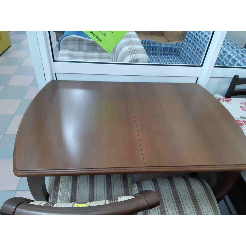 Стол обеденный деревянный прямоугольный Коралл Темный орех