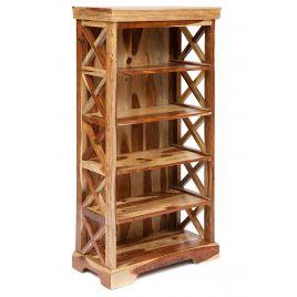 """Шкаф - стелаж для книг """"Бомбей"""" средний палисандр"""