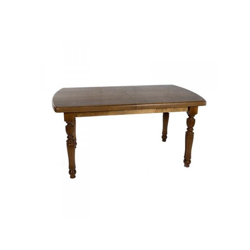 Стол обеденный деревянный раскладной Виктор 1200 Темный орех