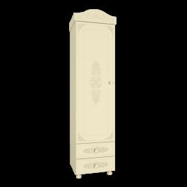 Шкаф - пенал «Ассоль Плюс» Модуль АС-1 Ваниль