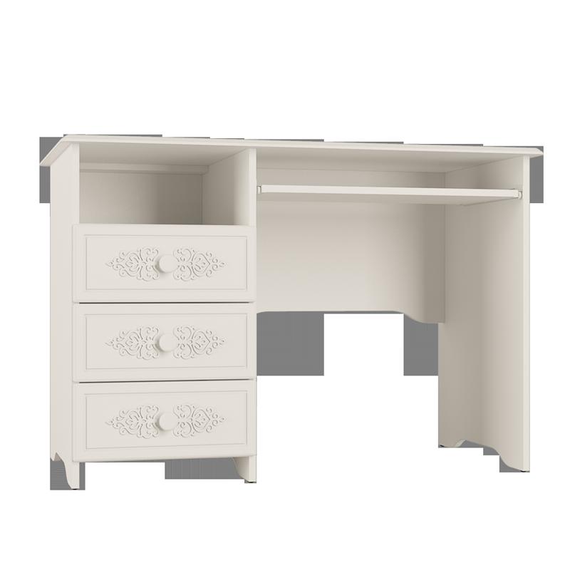 Стол письменный «Ассоль» АС-241К Белый