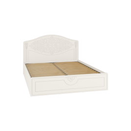 Кровать двуспальная с подъемным механизмом Ассоль АС-30 Белый