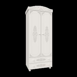 Шкаф распашной для одежды «Ассоль» Модуль АС-2 Белый для спальни