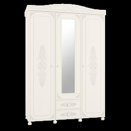 Шкаф трёхстворчатый распашной с зеркалом «Ассоль» ..