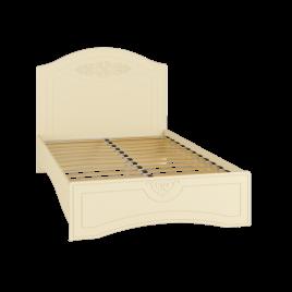 Кровать полутороспальная с ламелями «Ассоль Плюс» АС-111К Ваниль