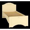 Кровать односпальная с ламелями «Ассоль Плюс» Модуль АС-26 Ваниль