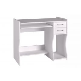 Стол компьютерный 203 Белый структурный