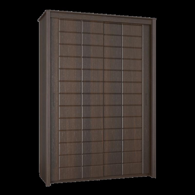 Шкаф-купе «Изабель» Модуль ИЗ-6 Орех темный/орех темный для спальни