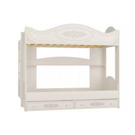 Кровать двухъярусная «Ассоль» АС-25 Белая