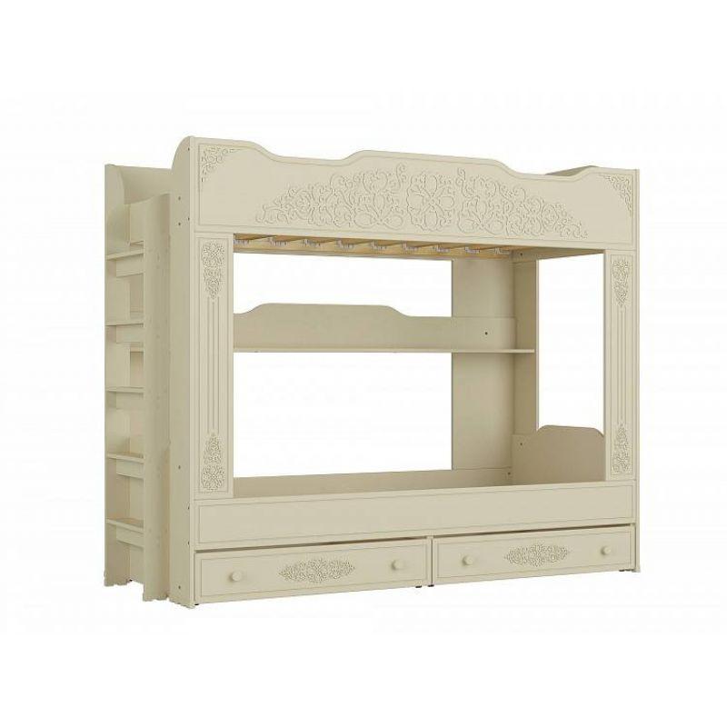 Кровать двухъярусная «Ассоль Плюс» АС-25 Ваниль