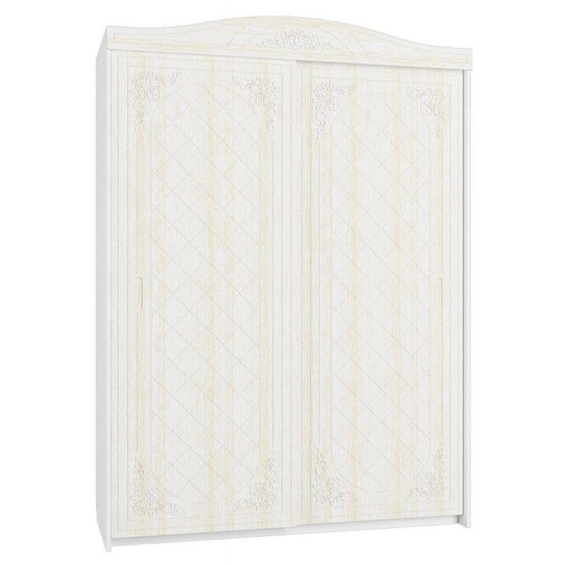Шкаф-купе «Соня Премиум» Модуль СО-12К  Белое дерево/ясень патина для спальни